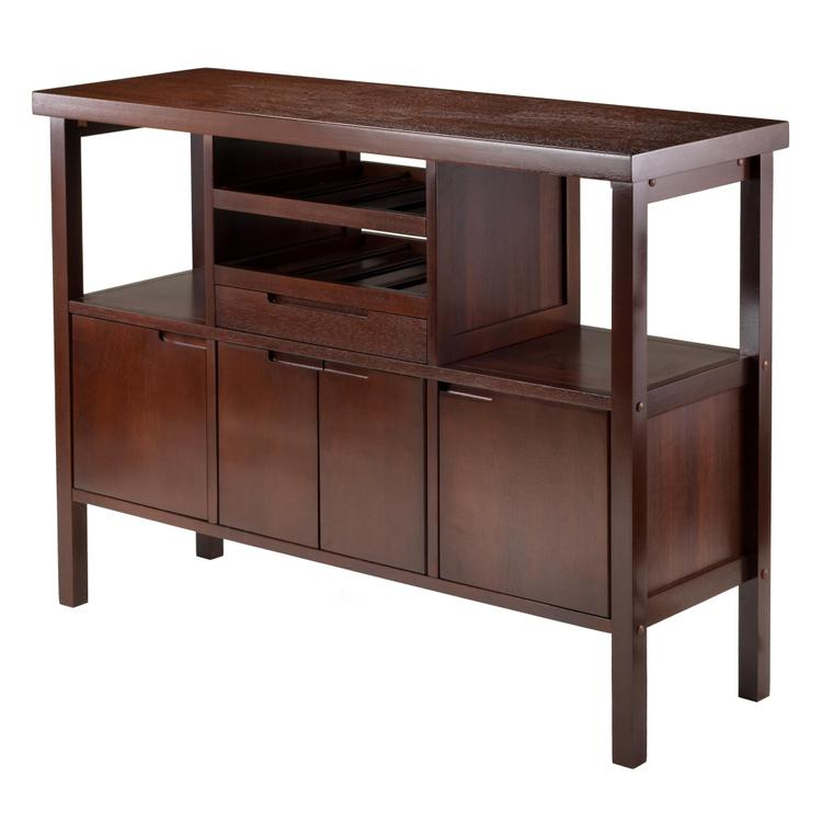 Winsome Wood Diego Buffet Cabinet Sideboard