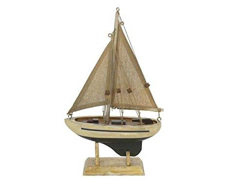 Wooden By The Sea Model Sailboat 9''