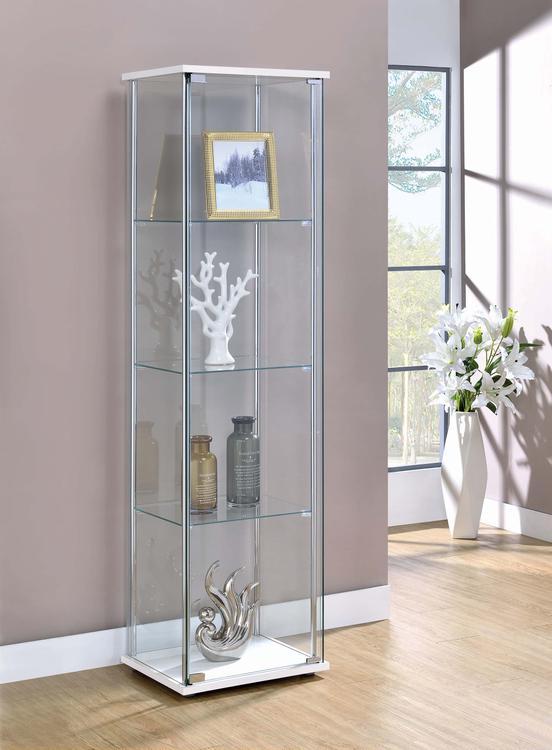 Coaster 4-shelf Curio Cabinet [Item # 951072]