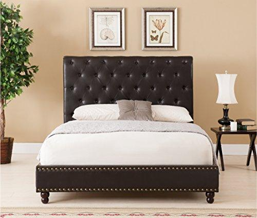 Wentworth Bed- Queen, Brown [SET]