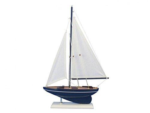 Wooden Gone Sailing Model Sailboat 17''