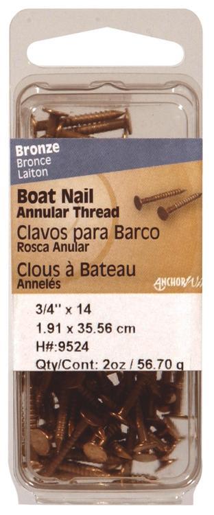 9524 Boat Nail 3/4