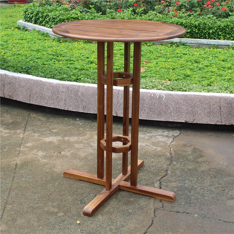 International Caravan Bar Height Bistro Table
