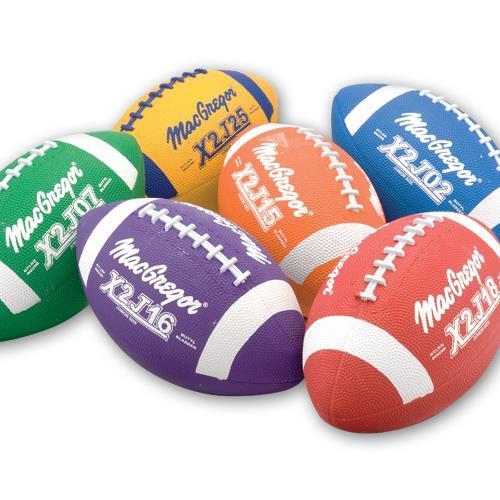 MacGregor Multicolor Footballs Prism Pack Jr Size
