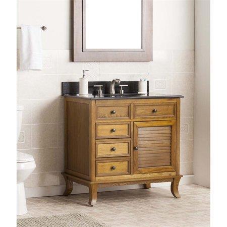SEI Wallingford Bath Vanity Sink With Granite Top