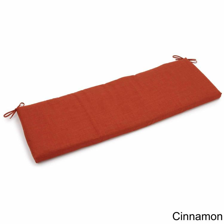 60-inch by 19-inch Spun Polyester Bench Cushion [Item # 960x19-REO-SOL-06]