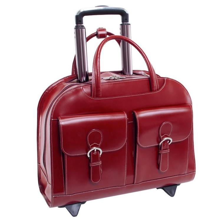 McKlein USA Davis Leather Ladies' Laptop Case