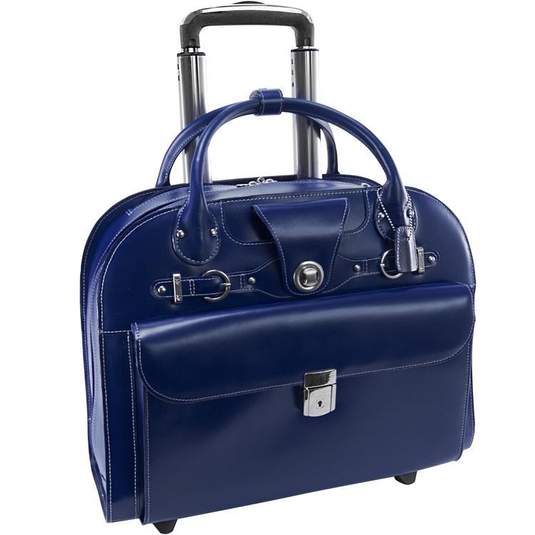 McKlein USA Edgebrook Wheeled Ladies Laptop Case