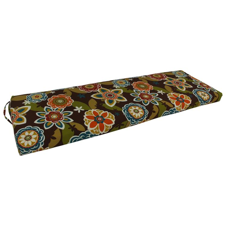 63-inch by 19-inch Spun Polyester Bench Cushion