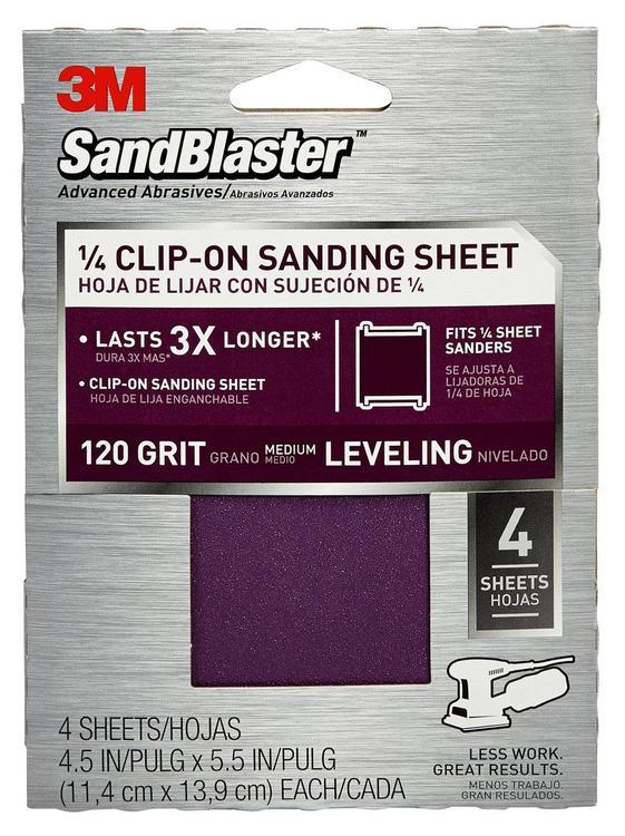 9664Sb-Es Sandblastr Palm 120G