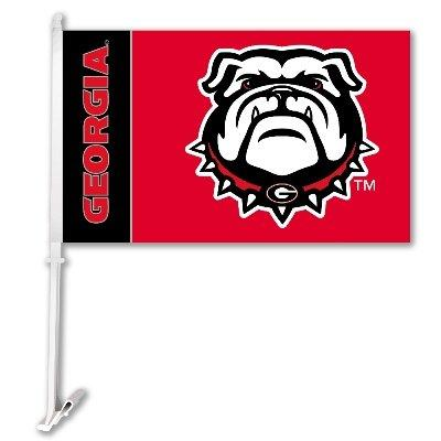 Car Flag W/Wall Brackett