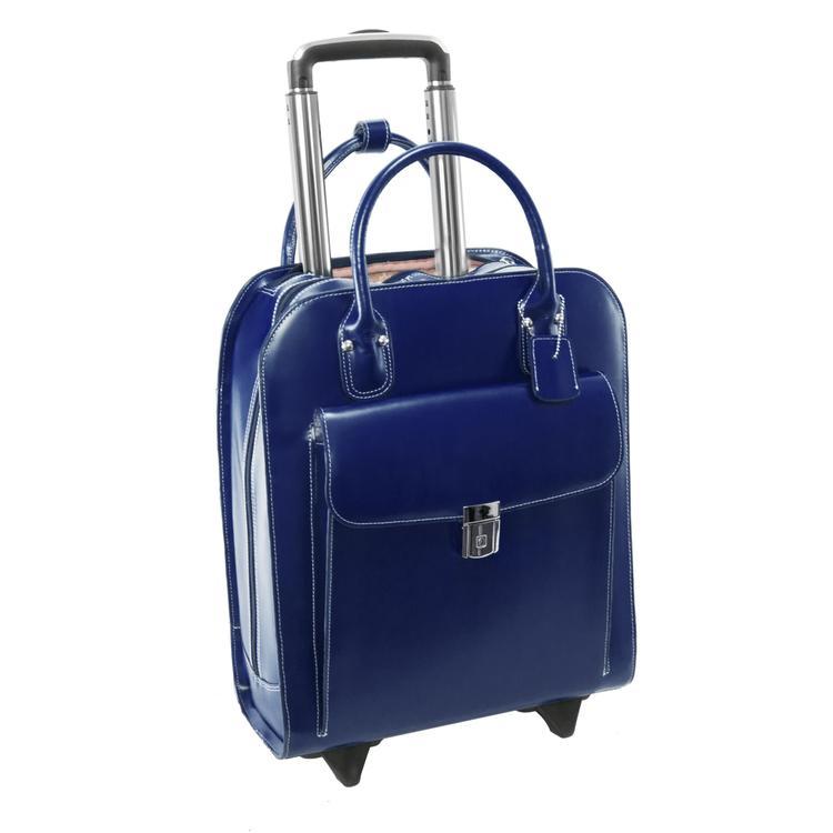 McKlein UPTOWN, Vertical Wheeled Ladies' Laptop Briefcase