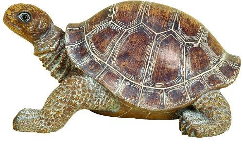 Polystone Turtle 15 Inches Wide For Tabledecor