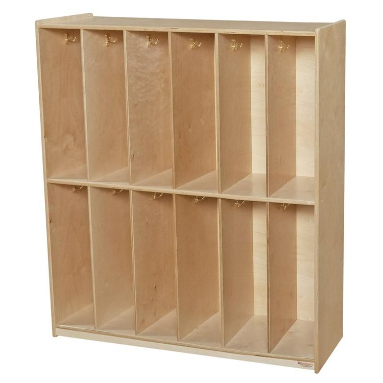 Wood Designs Twelve Section Locker