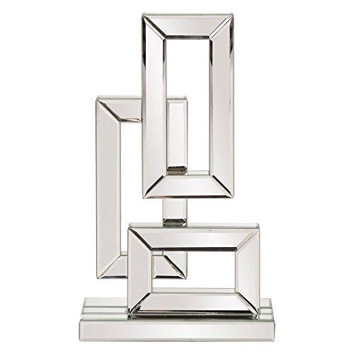 Howard Elliott Abstract Geometric Mirrored Sculpture Small