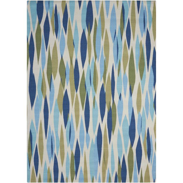 Waverly Sun & Shade Bits & Pieces Seaglass Indoor/Outdoor Rug By Nourison