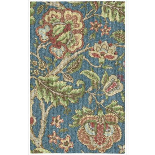 Waverly Global Awakening Imperial Dress Sapphire Area Rug By Nourison