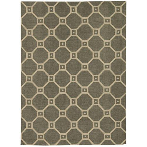 Waverly Color Motion Ferris Wheel Stone Area Rug By Nourison