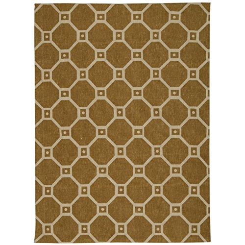 Waverly Color Motion Ferris Wheel Gold Area Rug By Nourison