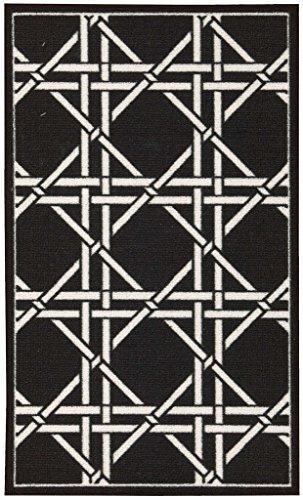 Waverly Fancy Free And Easy Garden Lattice Charcoal Area Rug By Nourison