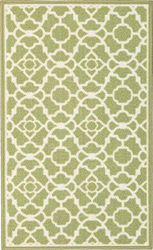 Waverly Fancy Free And Easy Lovely Lattice Celery Area Rug By Nourison