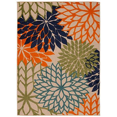 Nourison Aloha Multicolor Indoor/Outdoor Rug