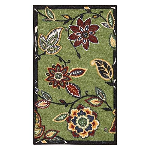 Waverly Fancy Free And Easy Lively Trail Celery Area Rug By Nourison