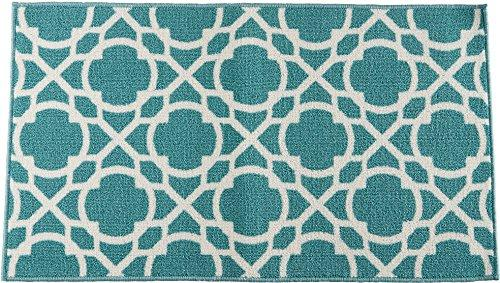 Waverly Fancy Free And Easy Perfect Fit Aqua Area Rug By Nourison