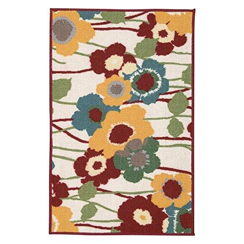 Waverly Fancy Free And Easy Pic-A-Poppy Birch Area Rug By Nourison