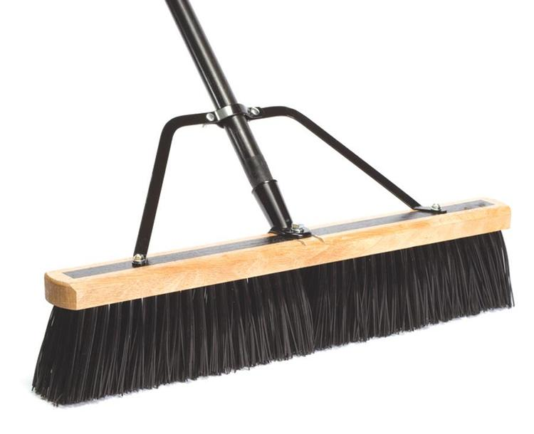 09944 Pushbroom Hd W/Brace 24