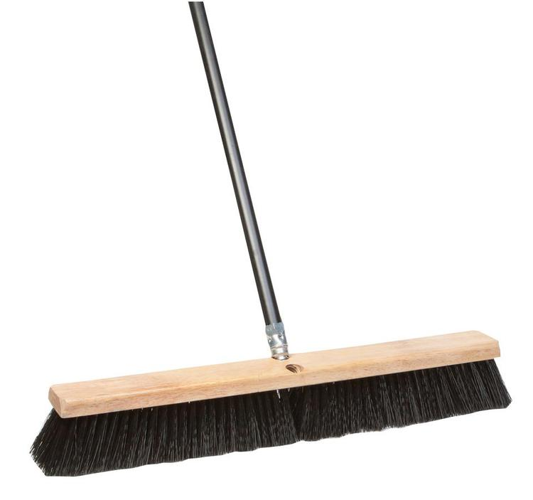 09961 Floor Sweep Blk Poly