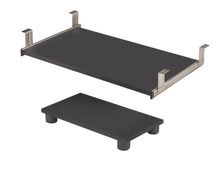 Bestar Prestige + Keyboard Shelf and CPU Platform