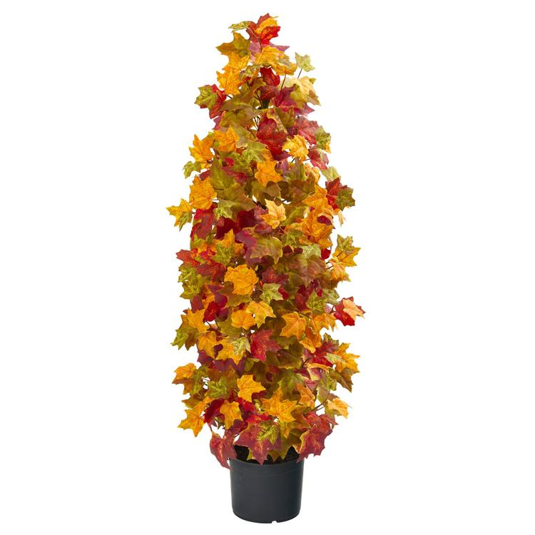 Nearly Natural Autumn Maple Artificial Tree