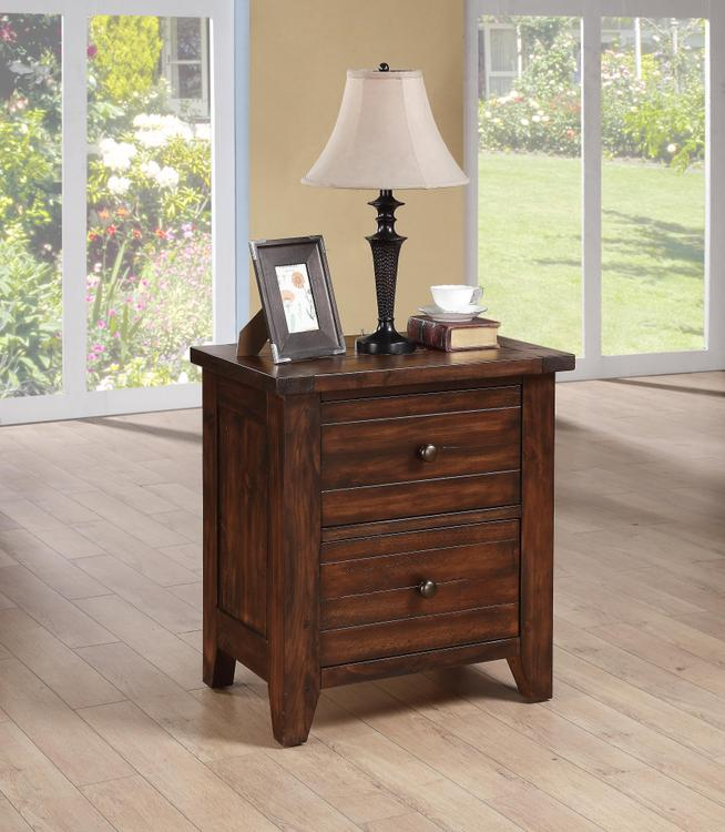 Cally Solid Wood Nightstand