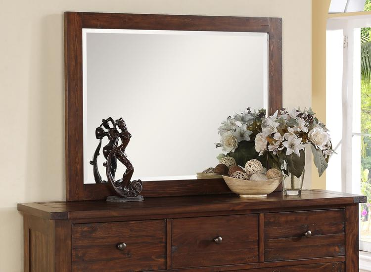 Cally Solid Wood Mirror