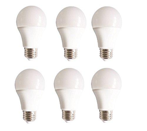 Elegant Lighting LED A19, 3000K, 160°, CRI80, UL, 10W, 60W EQUIVALENT, 15000HRS, LM800, NON-DIMMABLE, 3 YEARS WARRANTY, INPUT VOLTAGE 120V 6 PACK