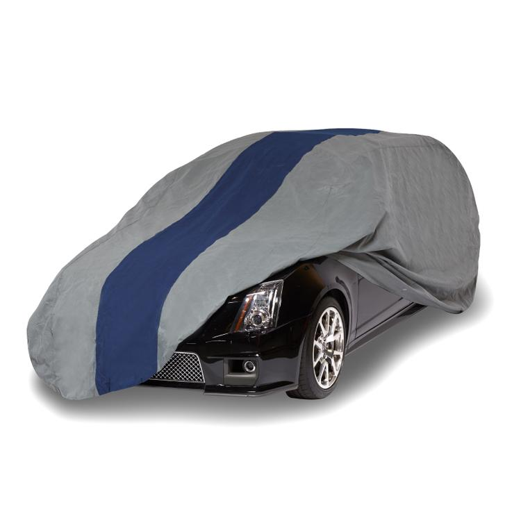 Duck Covers Double Defender Station Wagon Cover, Fits Wagons up to 15 ft. 4 in. L