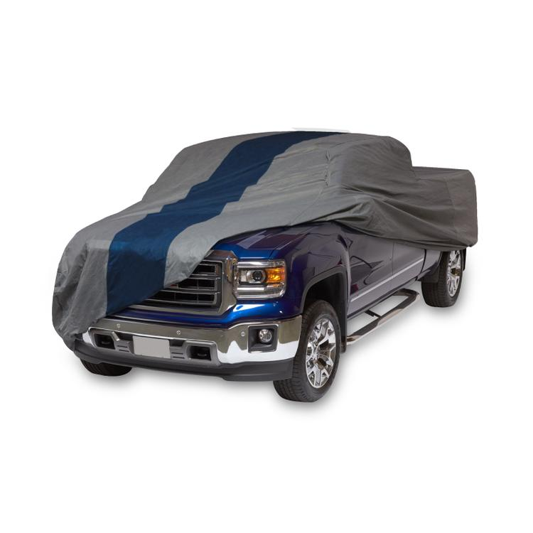 Duck Covers Double Defender Pickup Truck Cover, Fits Standard Cab Short Bed Trucks up to 18 ft. 1 in. L