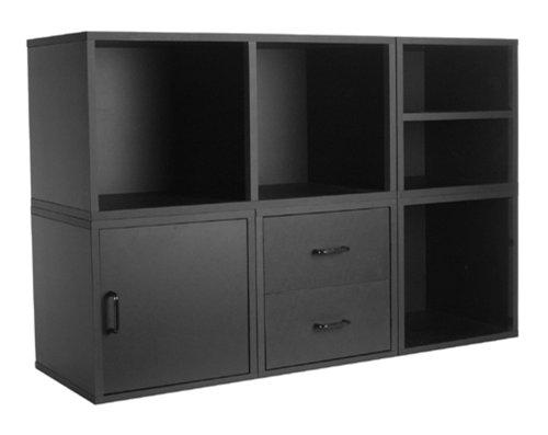 5-IN-1 Modular Storage System Black
