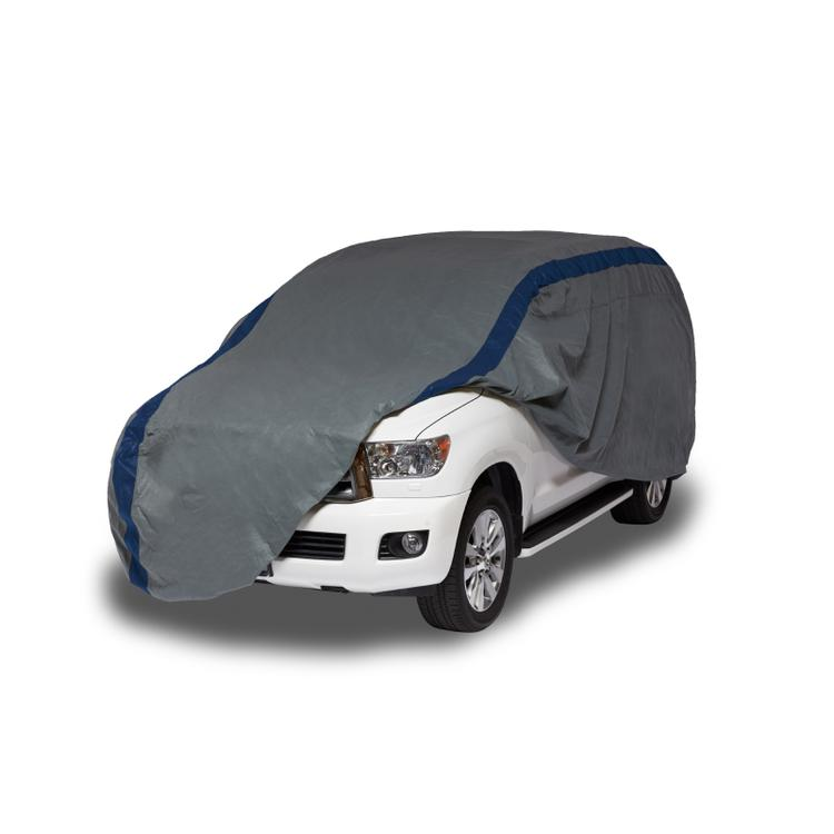 Duck Covers Weather Defender Jeep Wrangler/SUV Cover, Fits Vehicles up to 13 ft. 6 in. L
