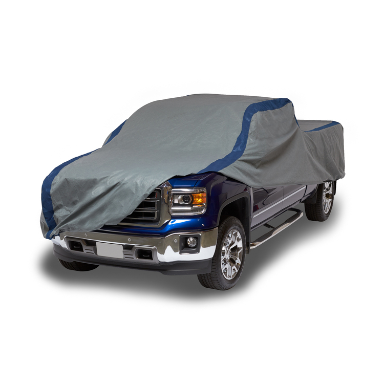 Duck Covers Weather Defender SUV Cover for SUVs//Pickup Trucks with Shell or Bed Cap up to 22