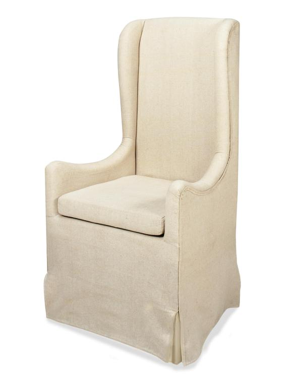 Progressive Furniture Skirted Wing Chair