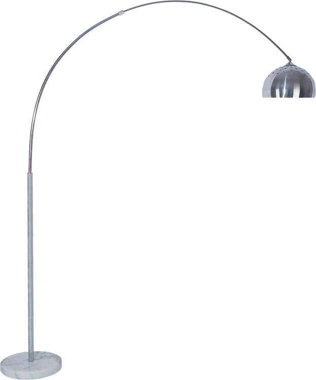 Milton Green Stars Skyler Adjustable 81-Inch Arc Floor Lamp with Marble Base