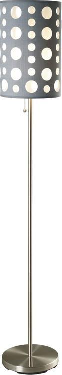 Milton Green Stars Seneca Retro 62-Inch Floor Lamp