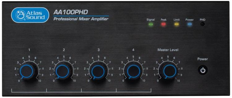 100W 4 Input Mixer Amplifier