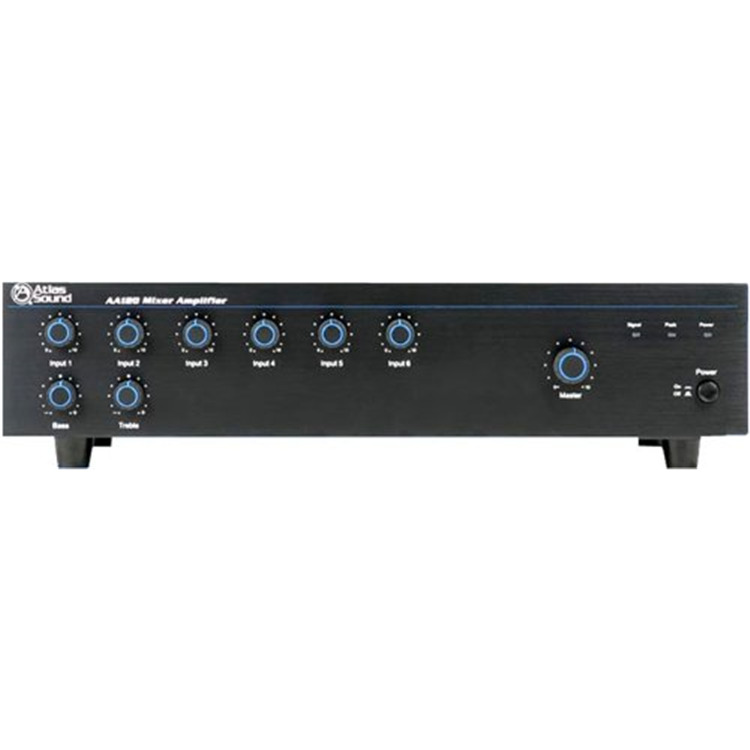 120W 70V Mixer Amplifier