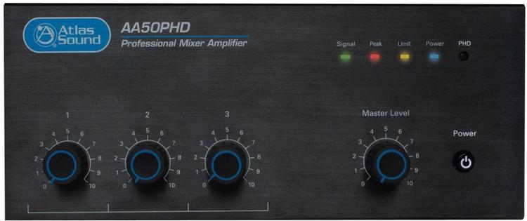 50W 3 Input Mixer Amplifier