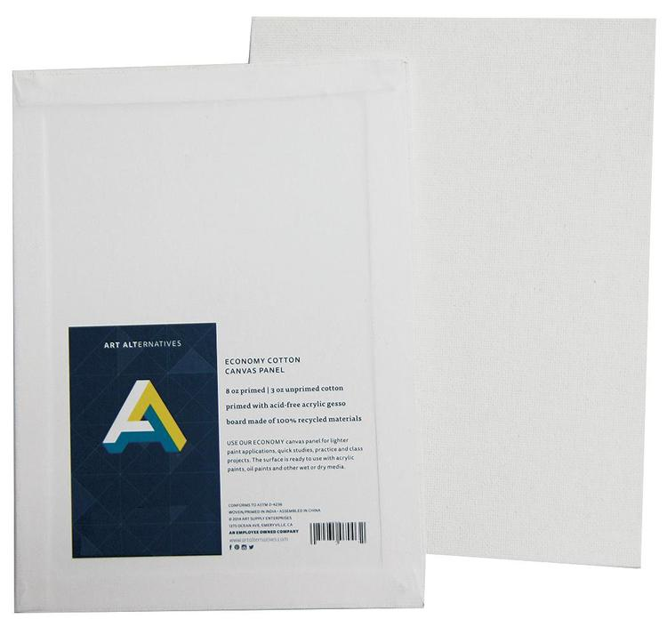 Aa7009 Canvas Panel 11X14 Wht