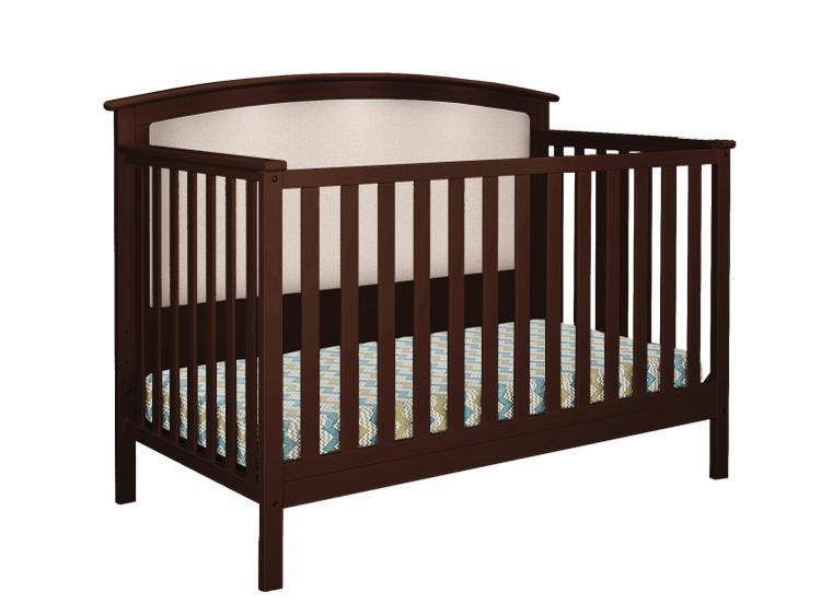 Belle Isle Furniture Bentley Upholstered Convertible Crib