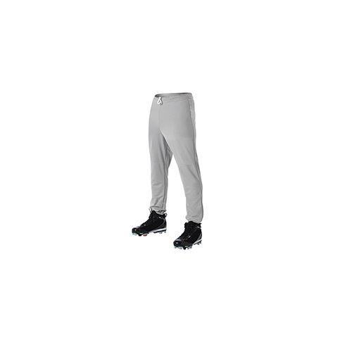 Alleson Athletic Youth Pull Up Baseball Pant - [AALLBDK2GRYXSM]